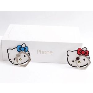 NWT Hello Kitty Bow Phone Rings [Red + Blue]
